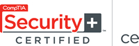 CompTia Security + CE  Certified